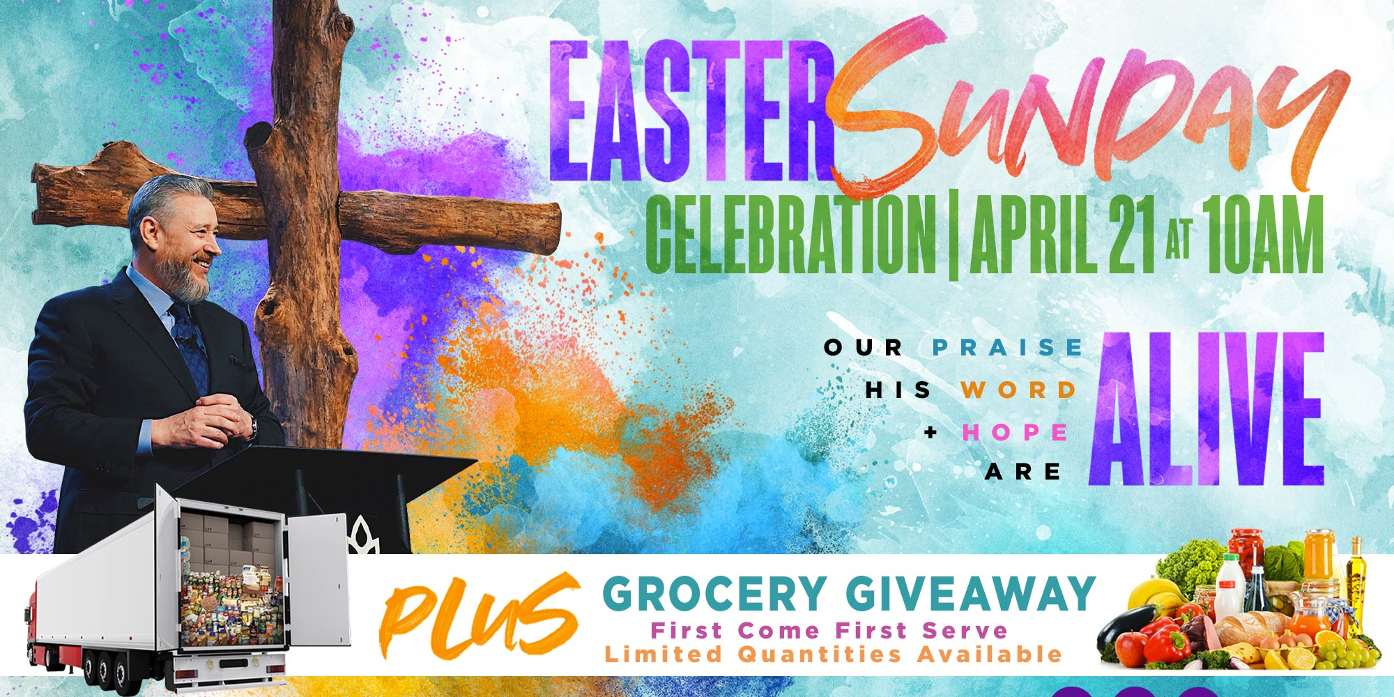 Easter at World Harvest Church | April 21, 10AM