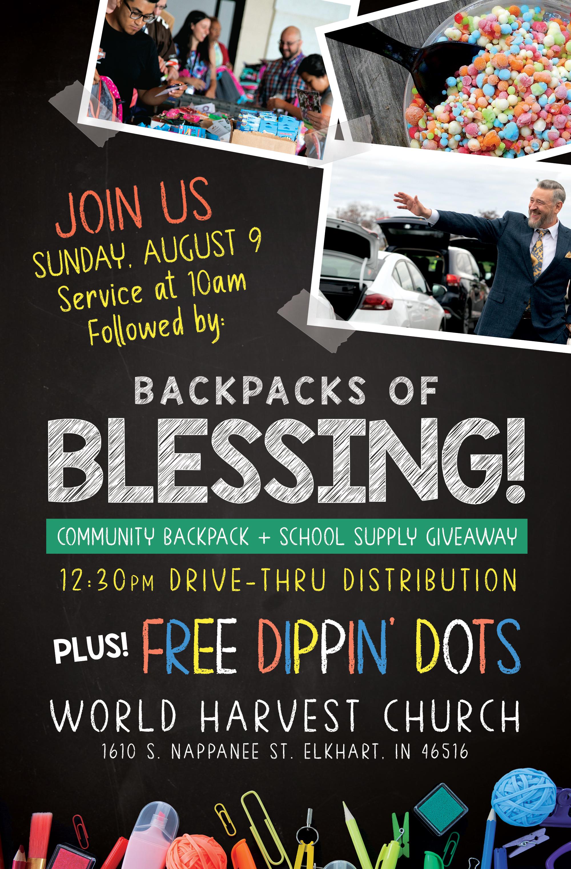 Backpacks of Blessing