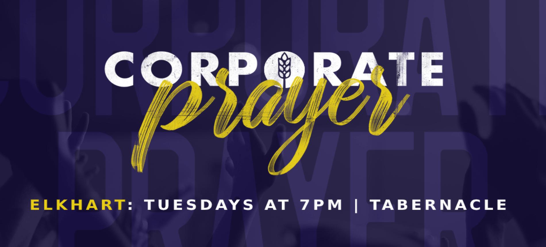 WHCE | Corporate Prayer Updated