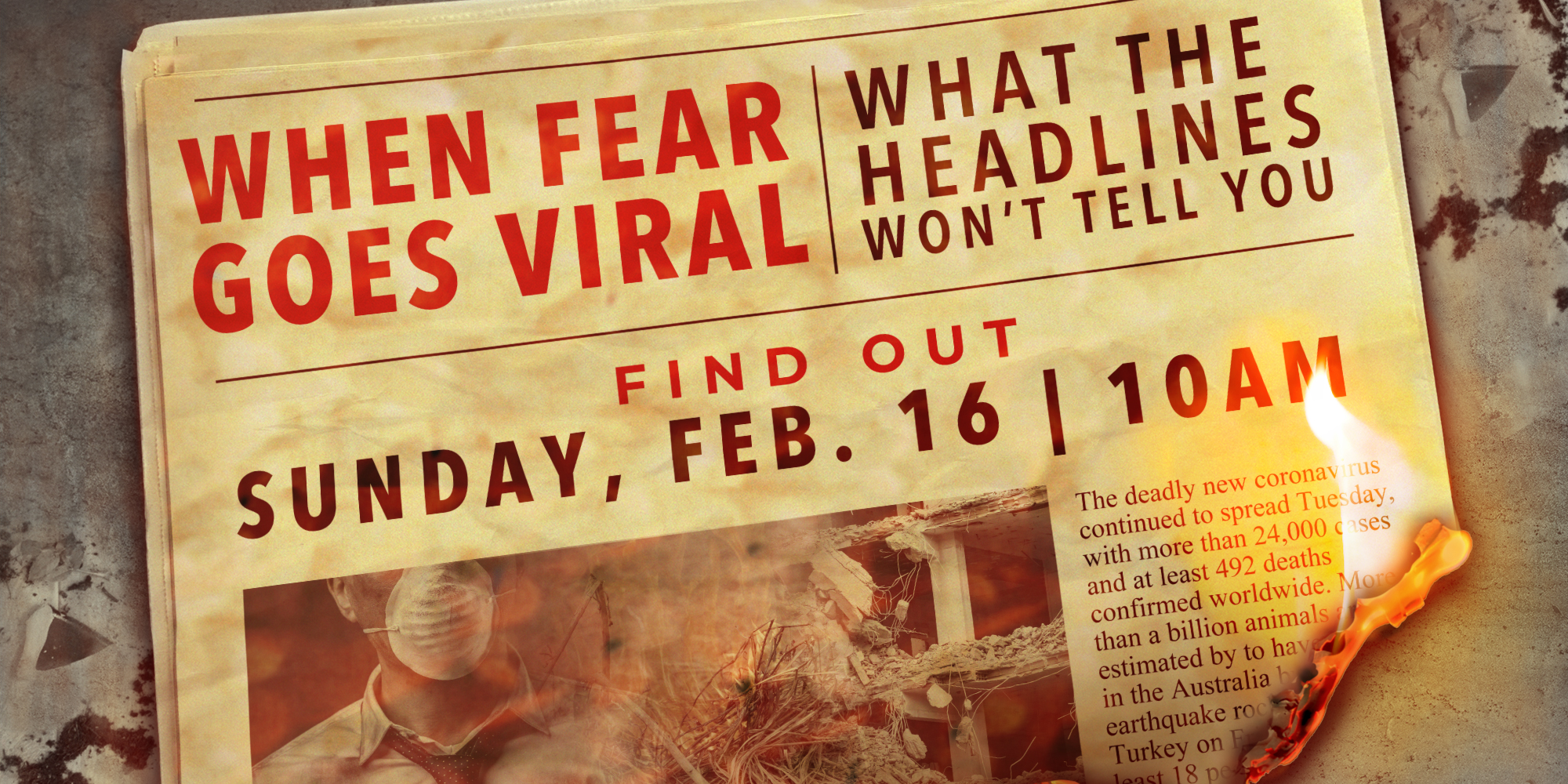 When Fear goes Viral