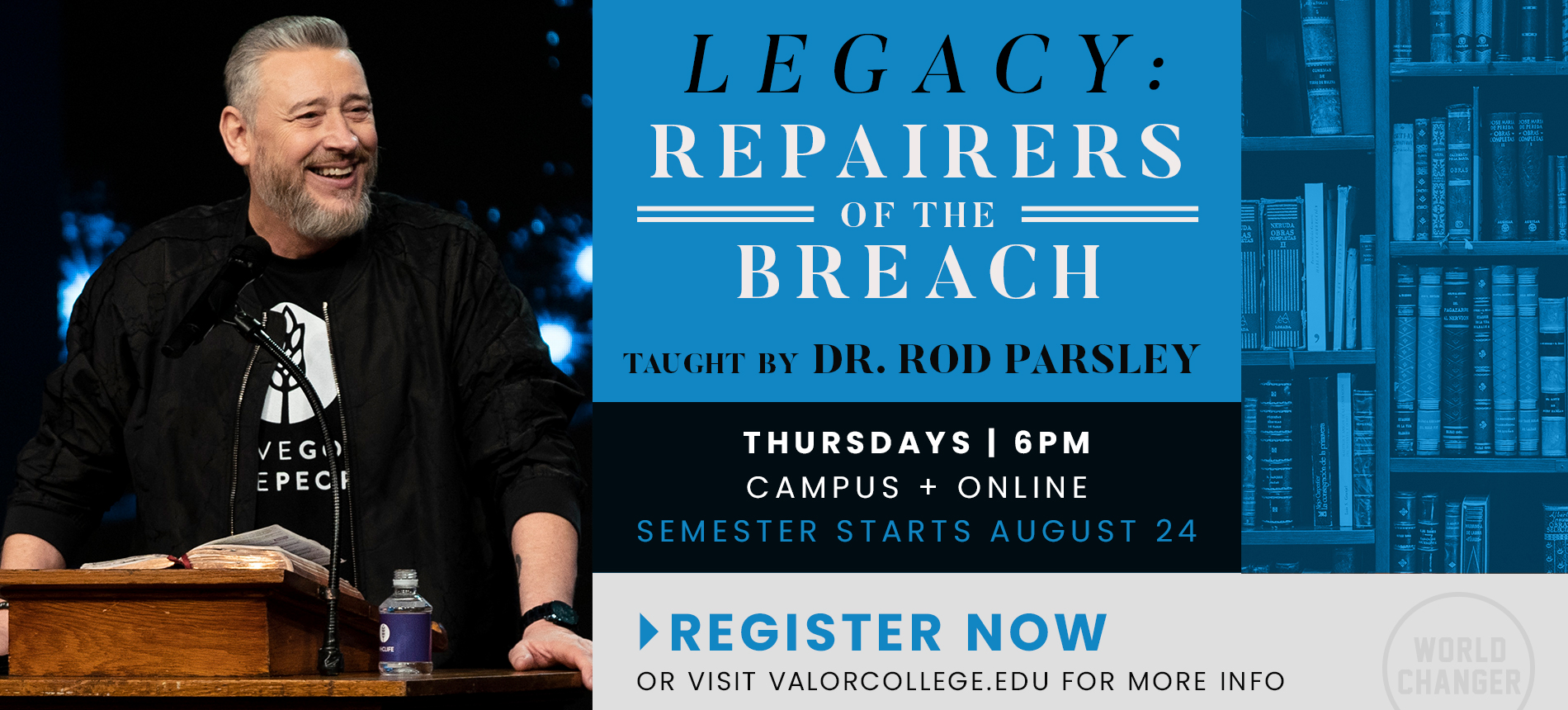 WHCE | Legacy: Repairers of the Breach